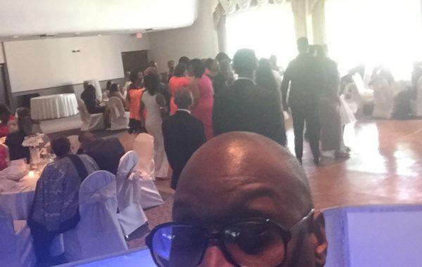 DJ JEWELS at a wedding reception in Southfield Mi