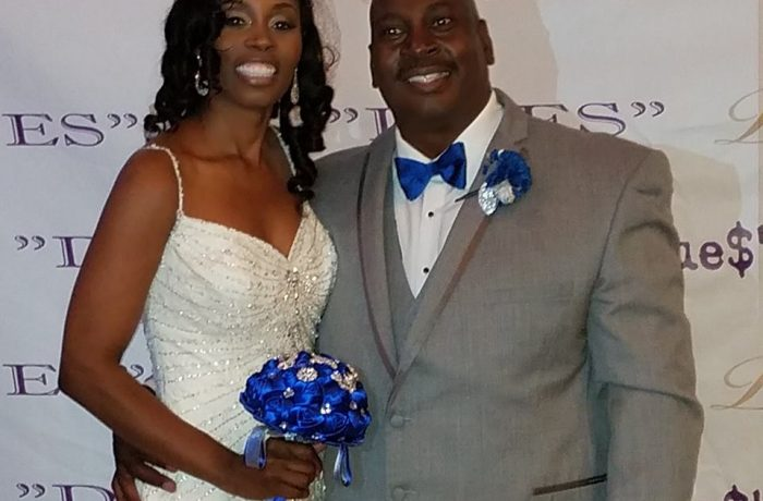 Mr. & Mrs Myers Wedding day